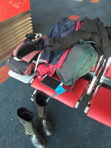 Plane luggage