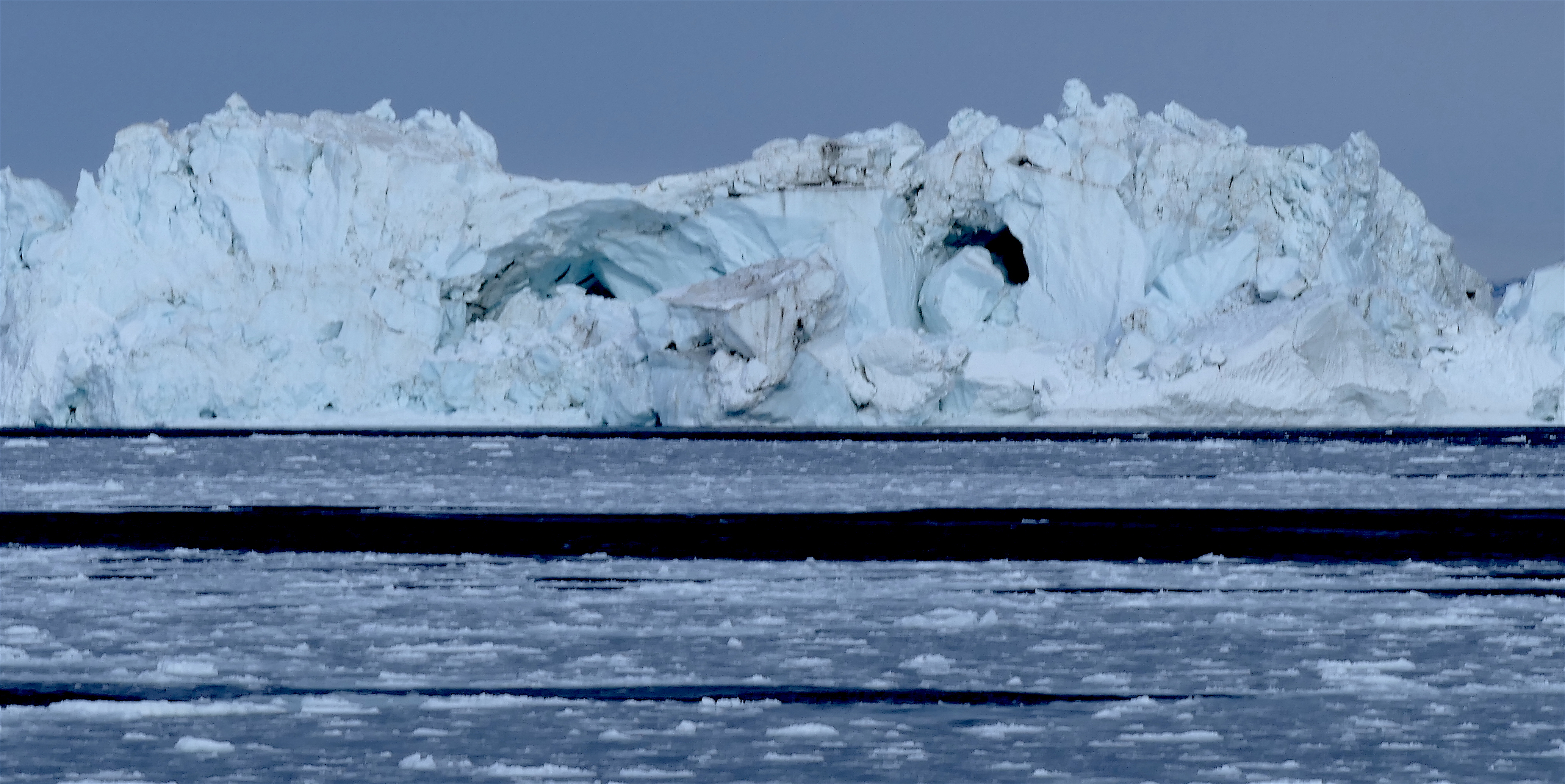 Face icebergs in the Weddell Sea