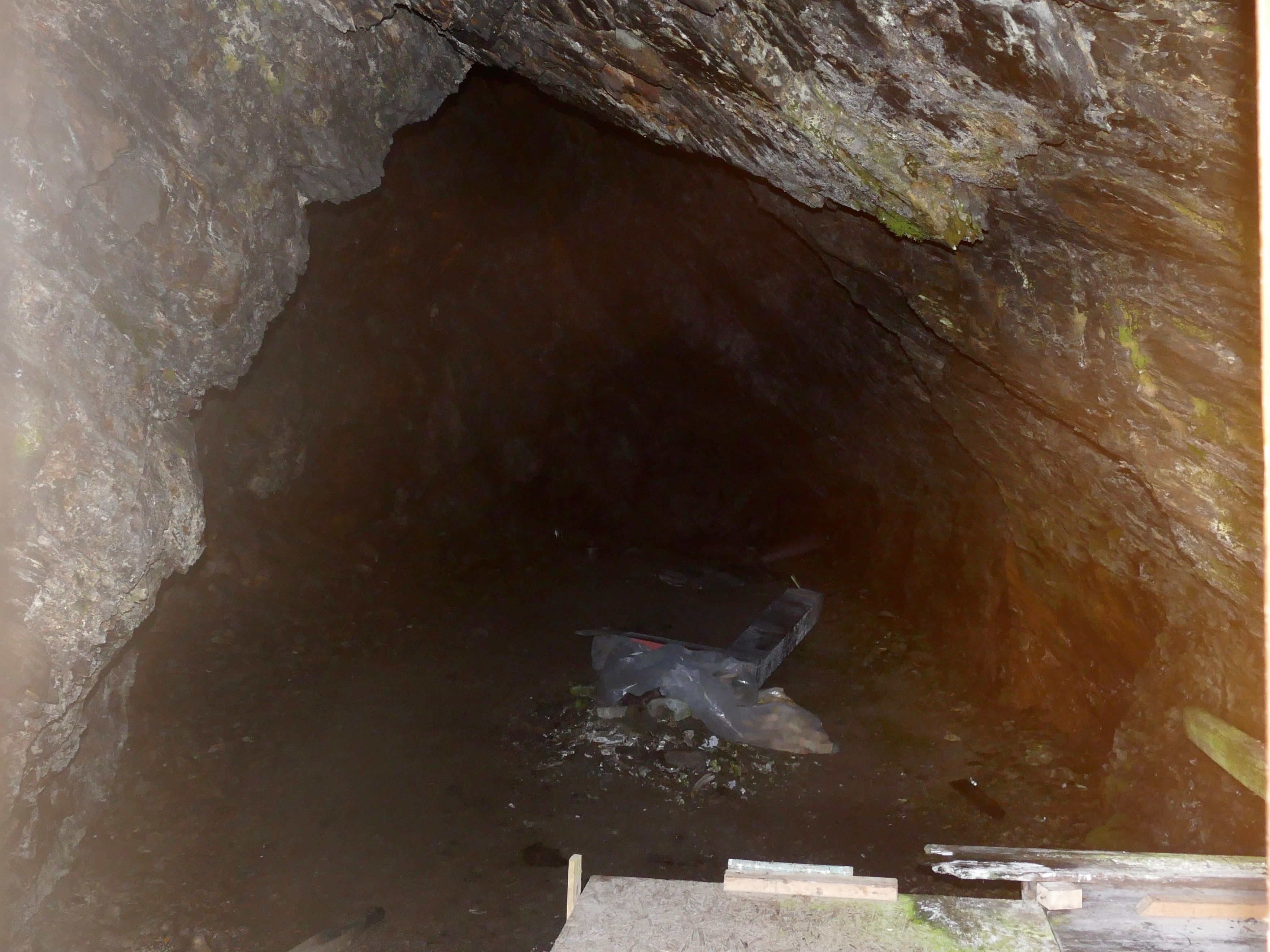 Sealers' cave at Maiviken